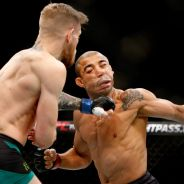 Conor McGregor knocks out Jose Aldo at UFC 194