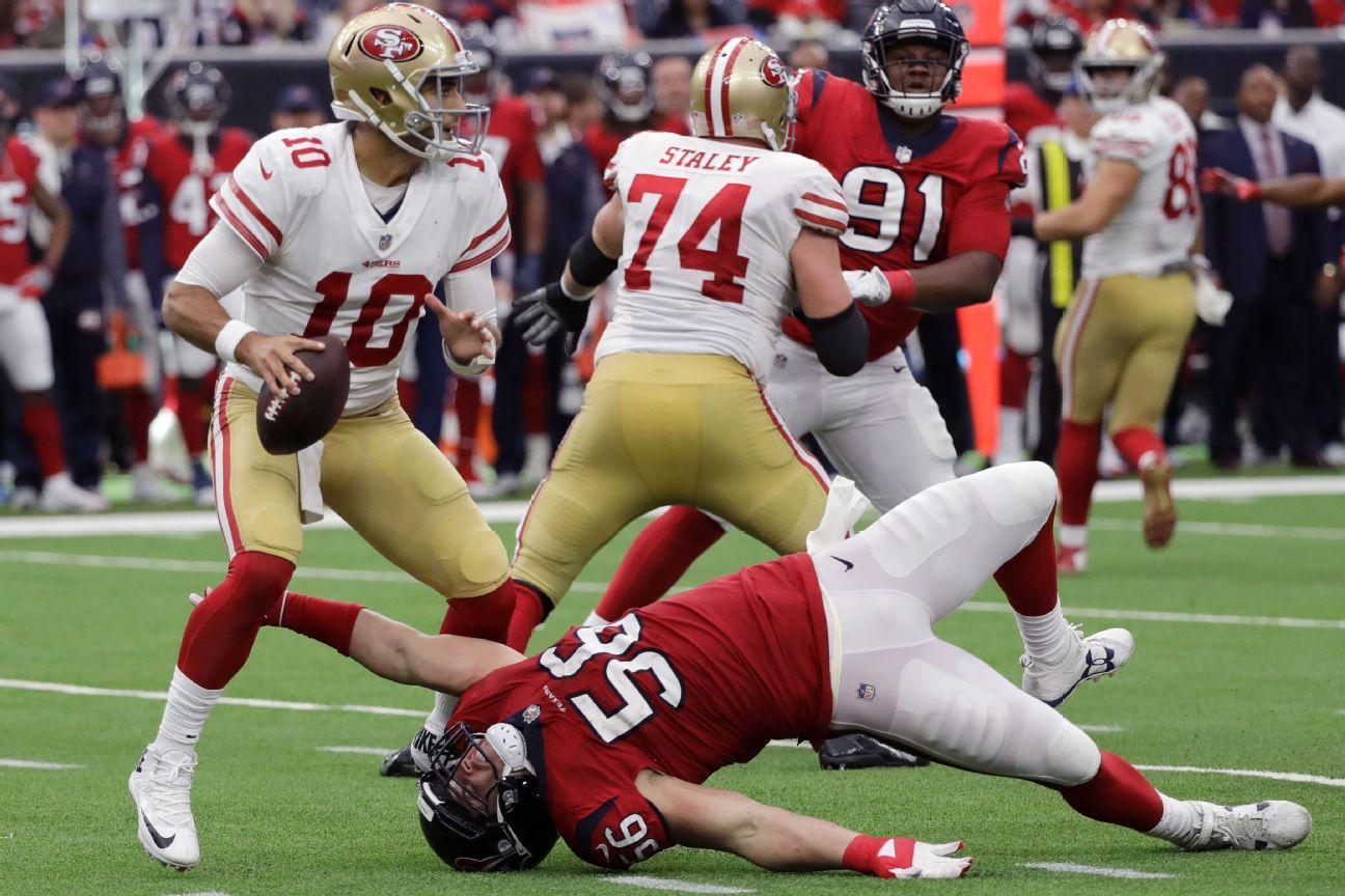 Jimmy Garoppolo, QB, San Francisco 49ers