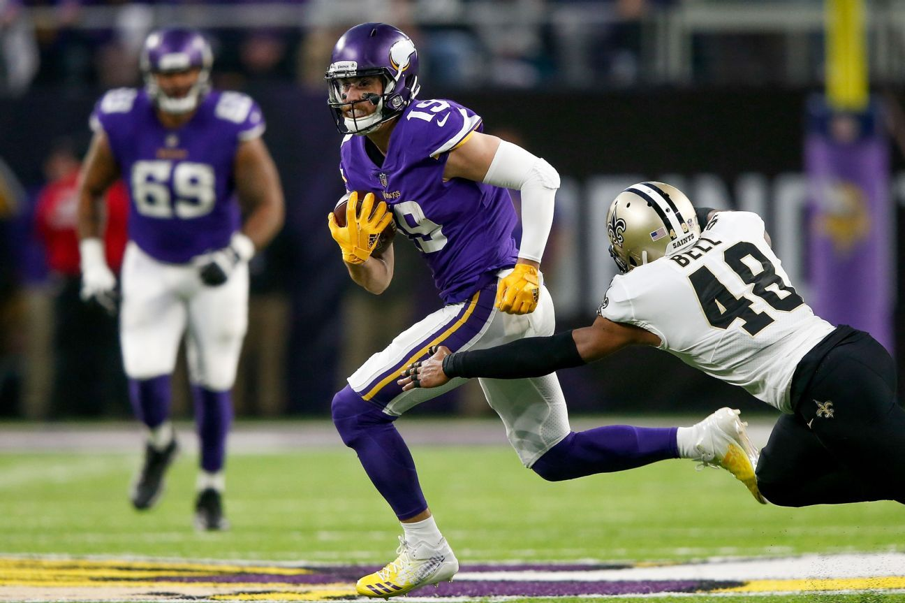 Adam Thielen, WR, Minnesota Vikings