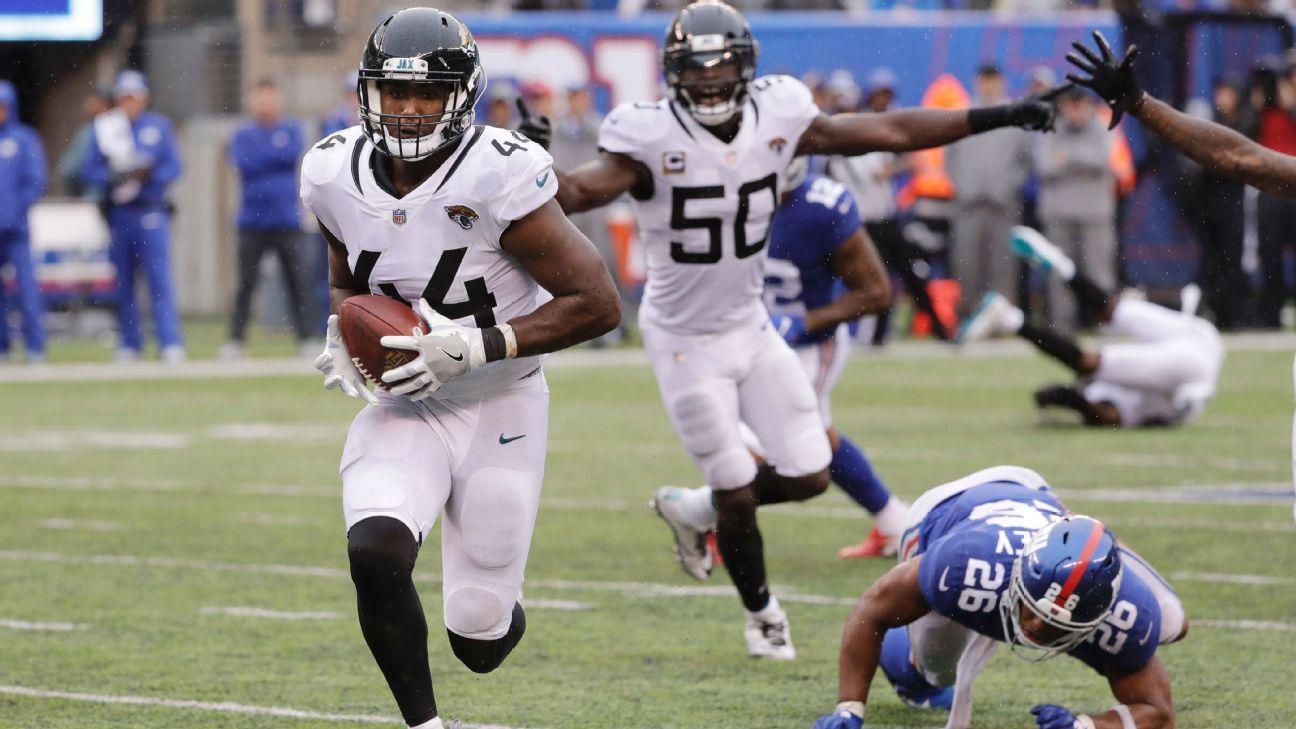 Jacksonville Jaguars 20-15 New York Giants
