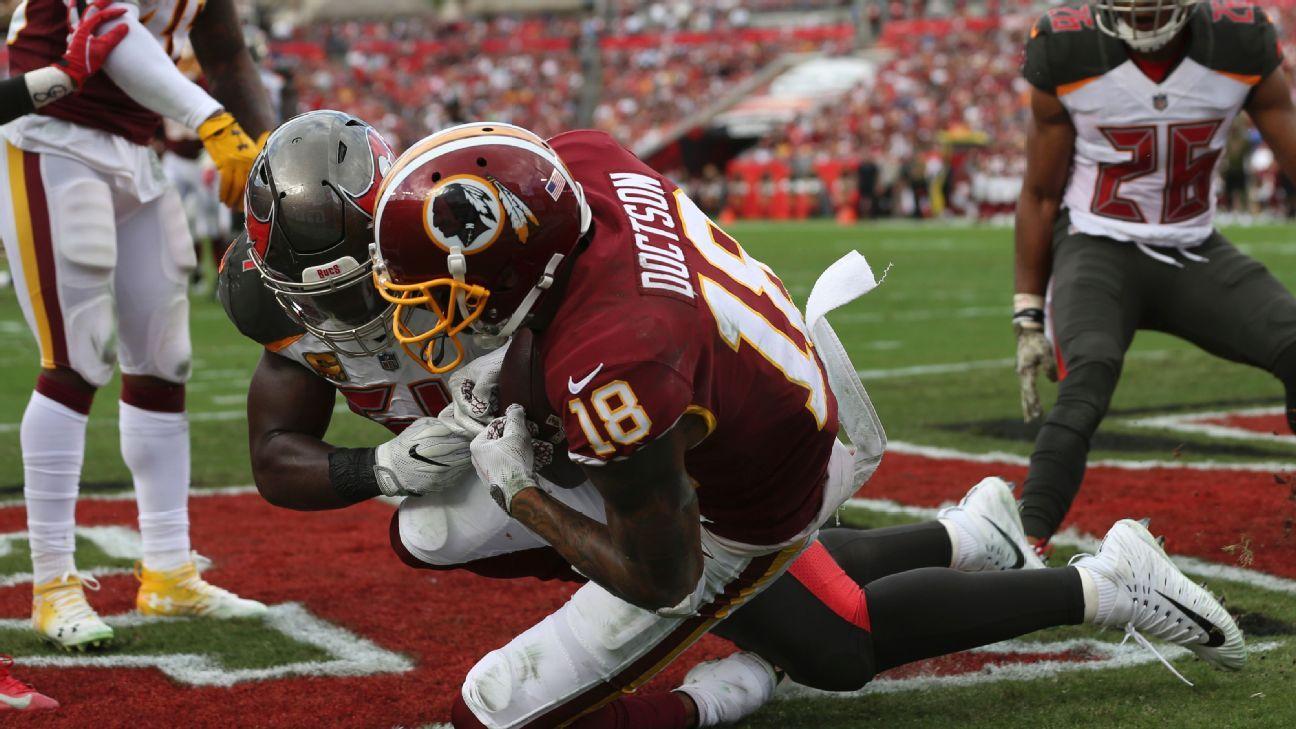 Josh Doctson, WR, Washington Redskins