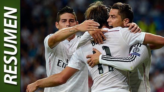 Real Madrid debut� con goleada