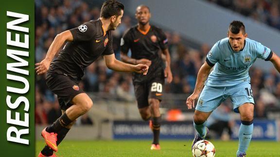 Roma igual� 1-1 con el City