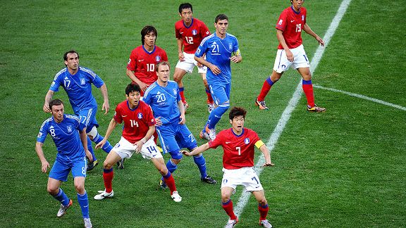 South Korea v Greece