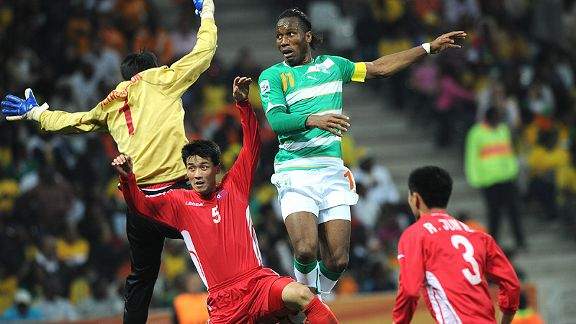 North Korea v Ivory Coast