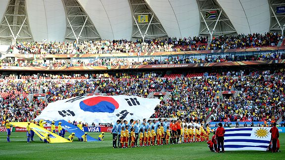 Uruguay v South Korea