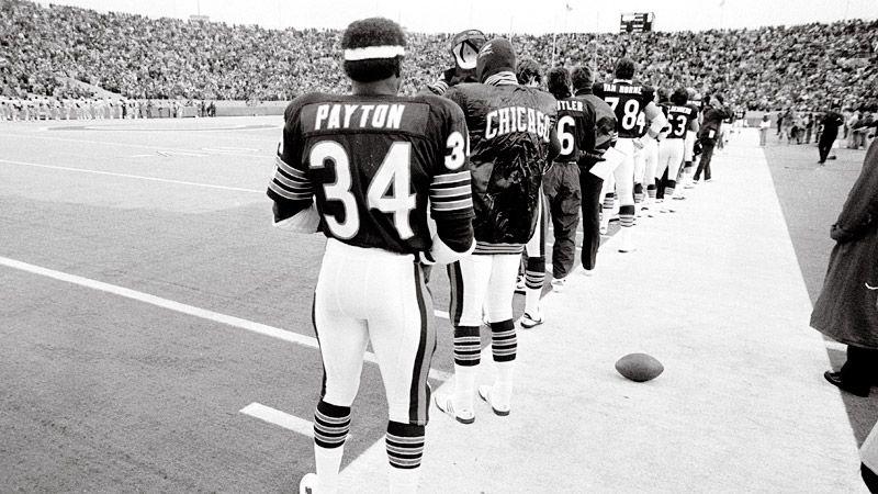 Walter Payton & Bears