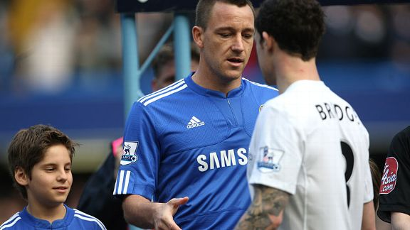 Wayne Bridge snubs John Terry's attempt at a handshake after allegations over an extra-martial affair