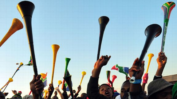 Vuvuzelas provided the soundtrack to the summer in South Africa