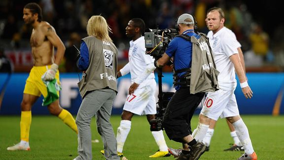 Wayne Rooney turns his frustration on the England fans after an abject showing against Algeria