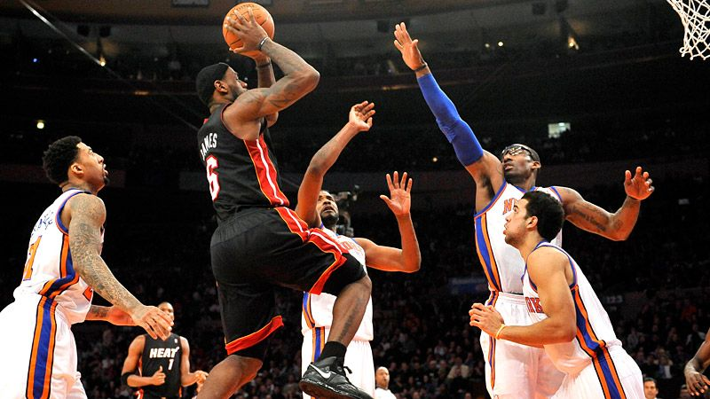 LeBron/Knicks