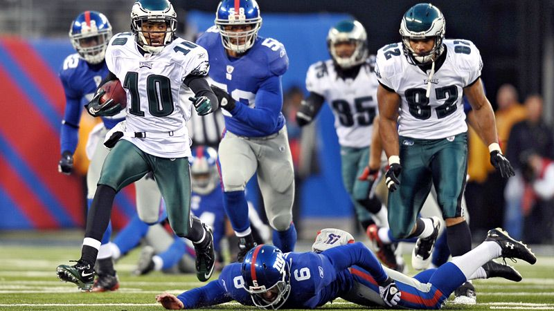 Giants Lose To Eagles