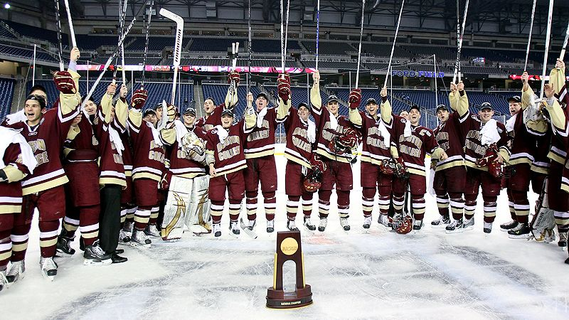 Boston College Hockey National Championship