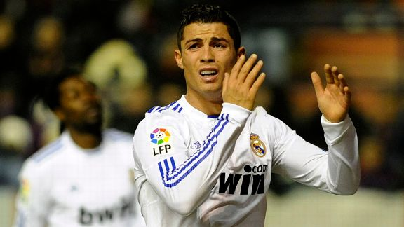 Ronaldo can't hide his frustration as Real Madrid toil against Osasuna