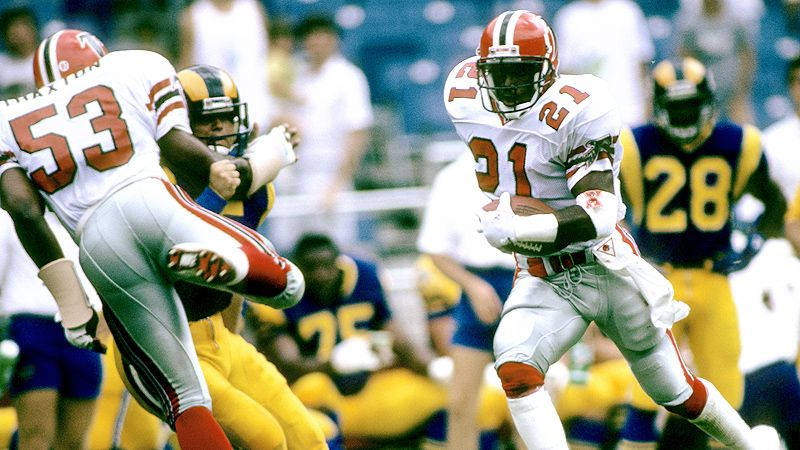 Deion Sanders, first punt return