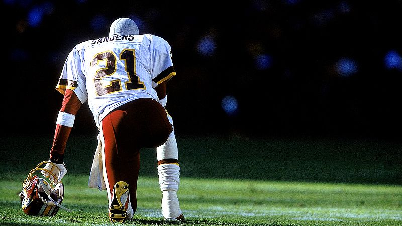 Deion Sanders, Redskins