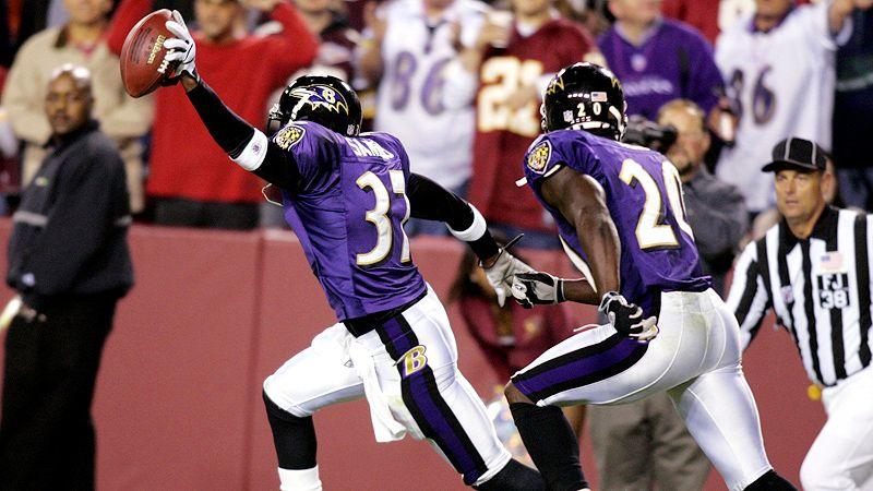 Deion Sanders, Ravens