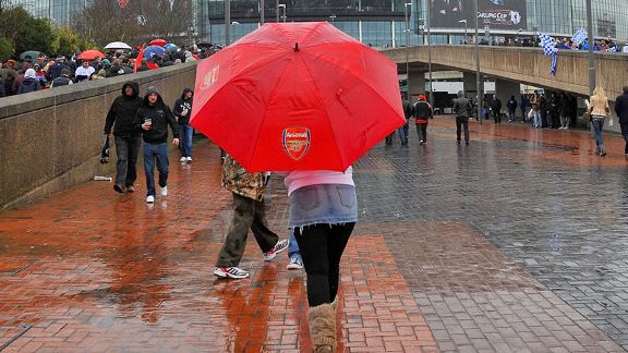 Arsenal umbrella