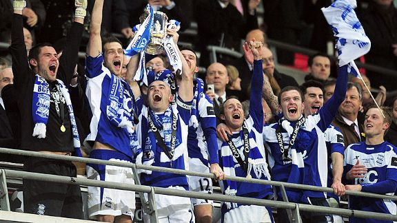 Birmingham City lift the Carling Cup