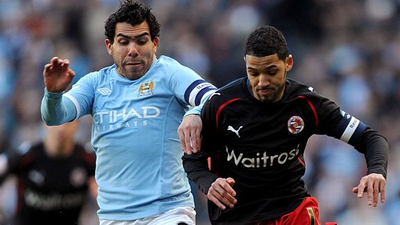 Carlos Tevez battle