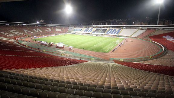 Serbia have been forced to play in their Stadion Crvena Zvezda behind closed doors due to crowd trouble in Italy.