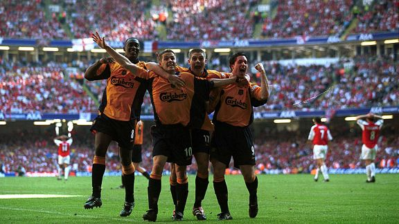 Arsenal 1-2 Liverpool, 2001
