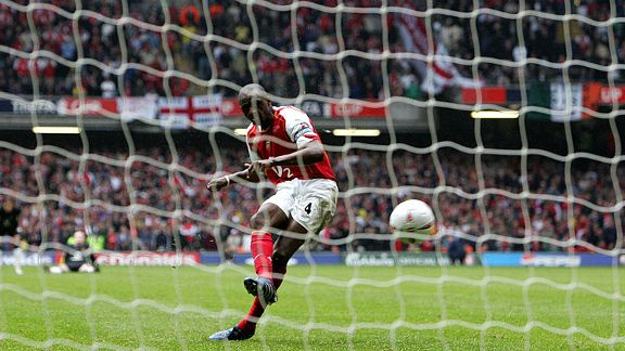 Arsenal 0-0 Manchester United, 2005