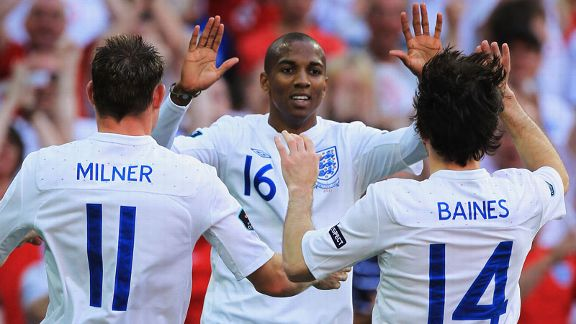Ashley young celeb England v Switzerland