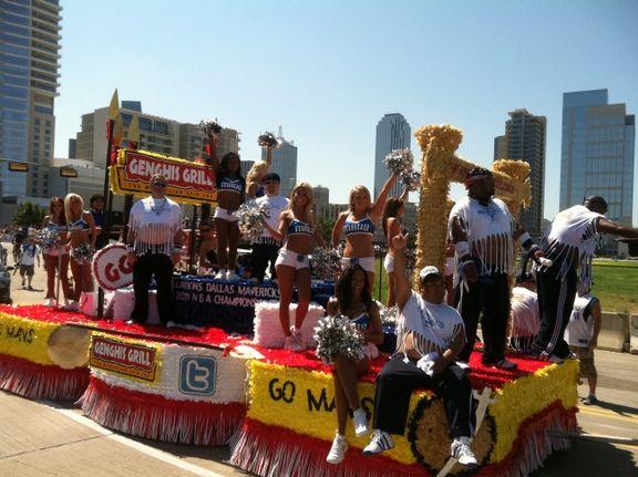 Mavericks Victory Parade