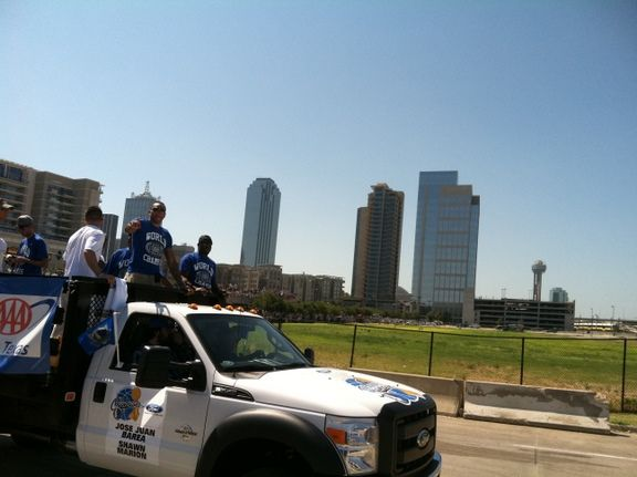 Mavericks Victory Parade