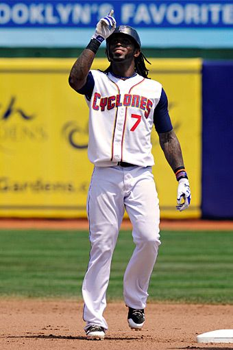 Jose Reyes with Brooklyn Cyclones