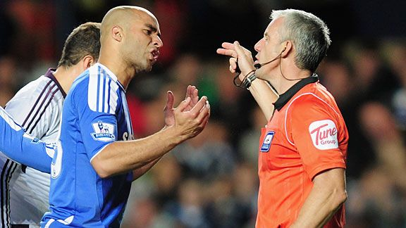 Alex gets his marching orders from Chris Foy