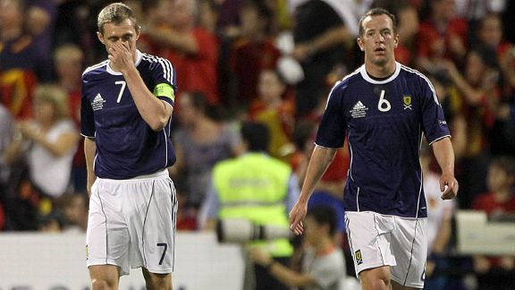 Darren Fletcher and Charlie Adam