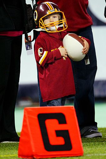 Young Redskins Fan