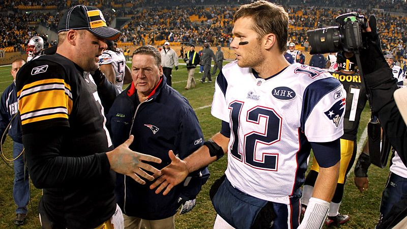 Roethlisberger and Brady