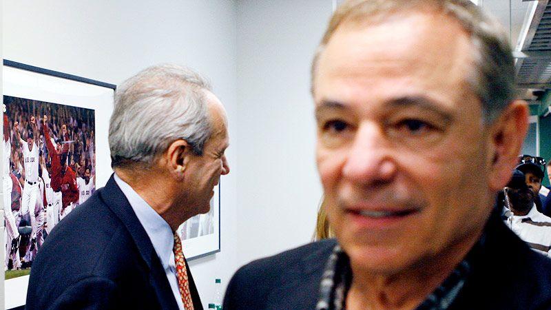 Bobby Valentine and Larry Lucchino