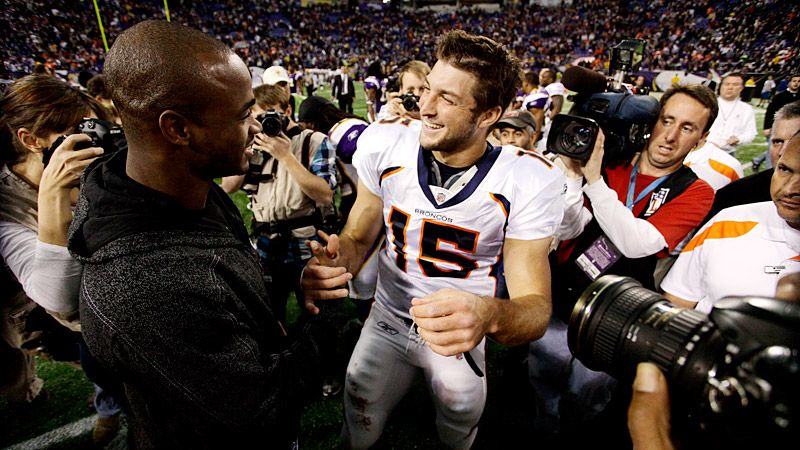 Tim Tebow & Adrian Peterson