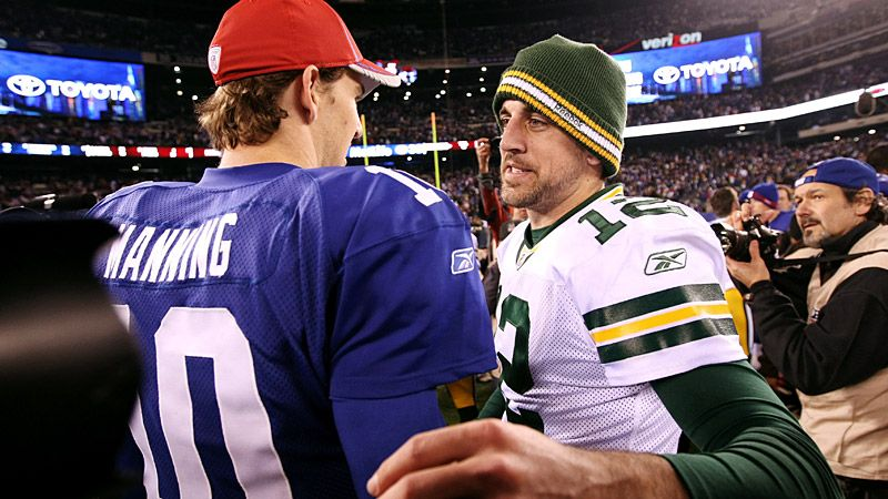Eli Manning & Aaron Rodgers