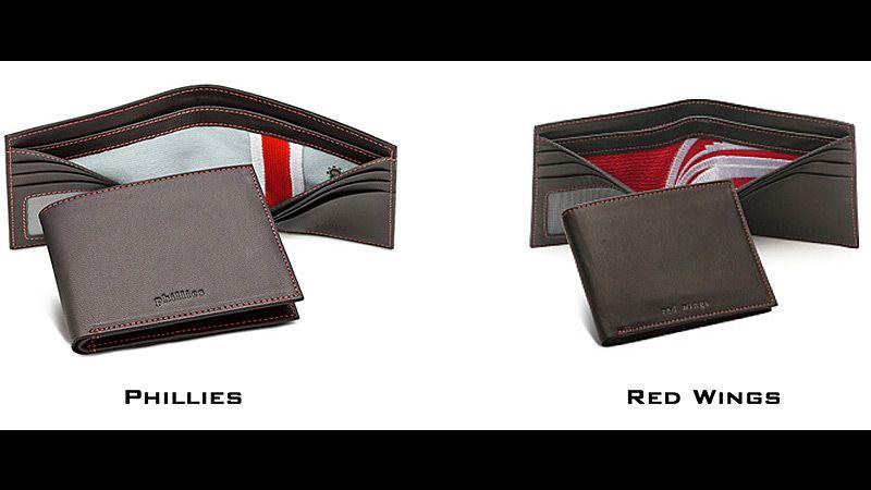 Uniform-lined wallets