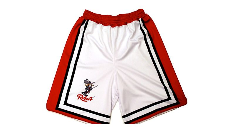 1990 UNLV throwback shorts