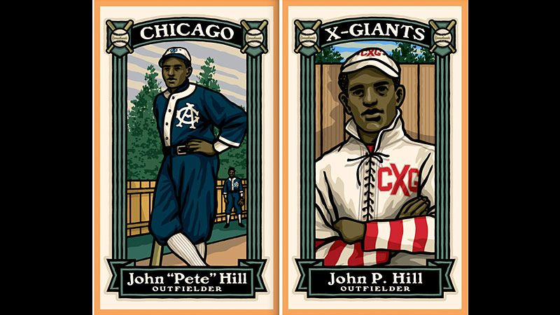 Pete Hill baseball cards