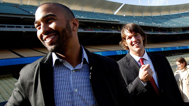 Matt Kemp & Clayton Kershaw