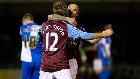 Marc Albrighton and Stephen Ireland