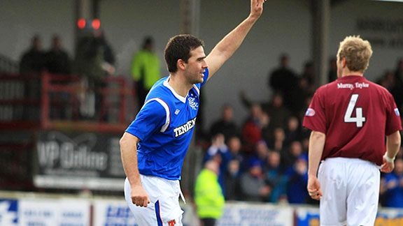 David Healy was on target as Rangers booked their place in the next round.