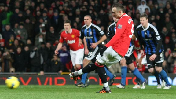Dimitar Berbatov Man Utd penalty