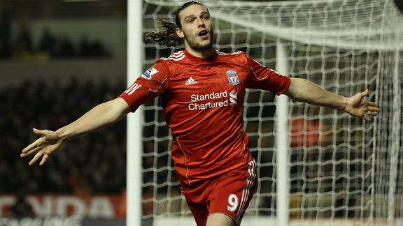 Andy Carroll Liverpool celeb v Wolves