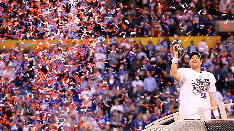 Eli Manning trophy