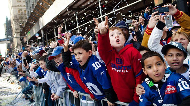 NY Giants Victory Parade
