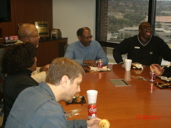 Lunch with Ron Washington