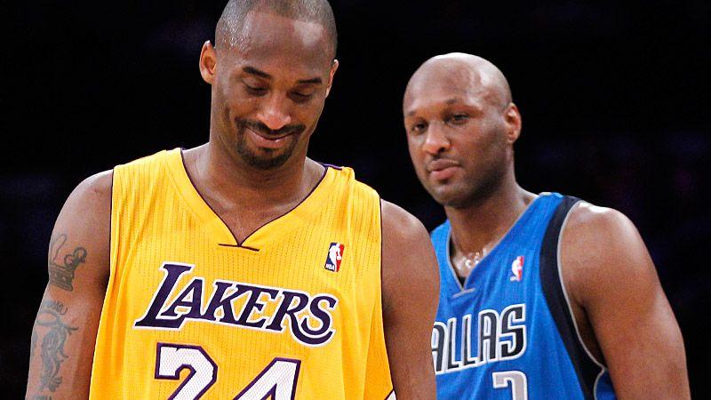 Kobe Bryant and Lamar Odom